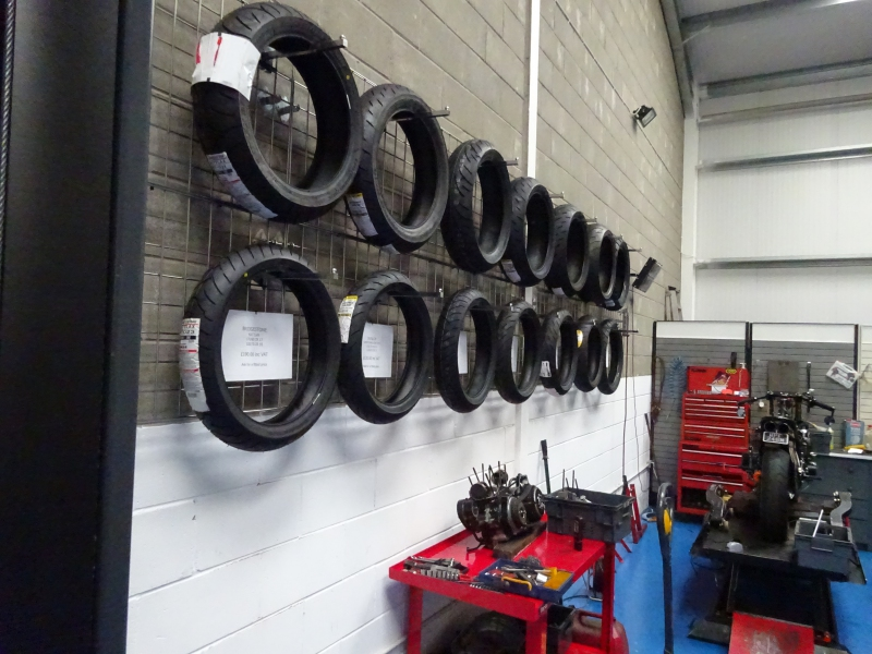 Image for Motorcycle Tyre Fitting